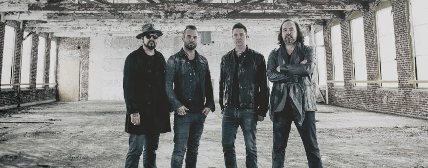 Rockband +LIVE+ komt terug met nieuw album The Turn